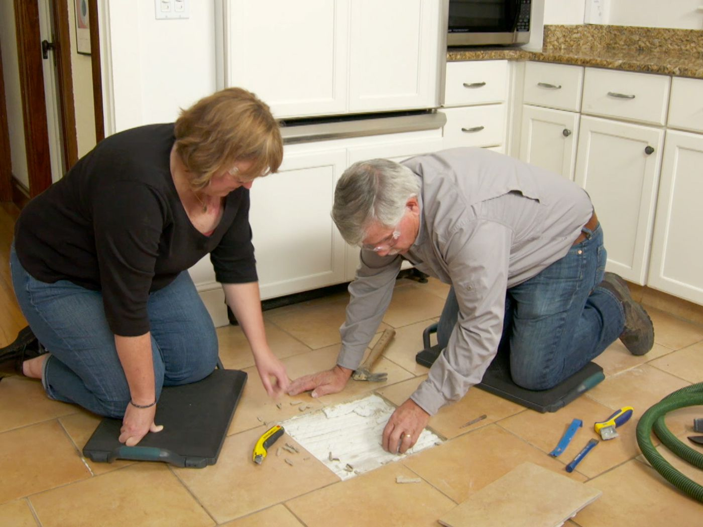 How to Replace a Cracked Floor Tile   This Old House