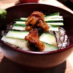 """Yaki uni don at Totto Ramen by <a href=""""http://www.flickr.com/photos/foodforfel/6232456517/in/pool-eater/"""">foodforfel</a>."""