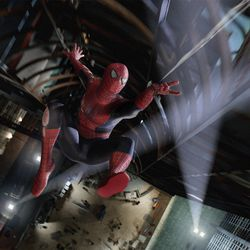 """Tobey Maguire stars as Spider-Man in Columbia Pictures' """"Spider-Man 3."""""""