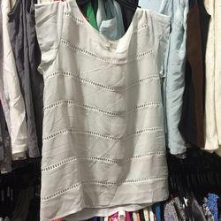 Joie resort silk top, $50