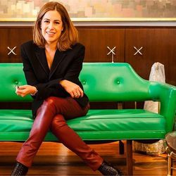 """Alison Pincus, co-founder of One King's Lane and founder of Hunter's Alley, <a href=""""http://huntersalley.com/"""">via</a> <br></br>"""
