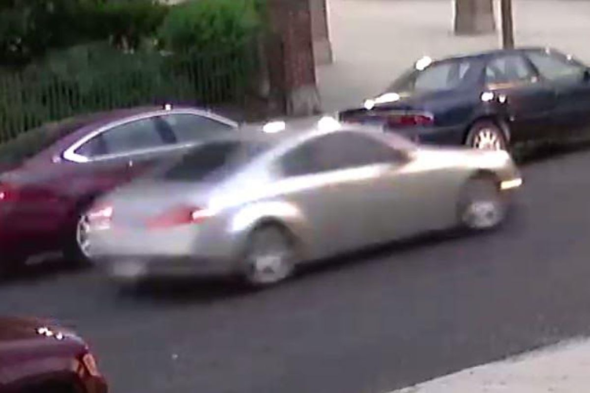 Surveillance image of a car used in the June 20, 2020, killing of Amaria Jones in Austin.