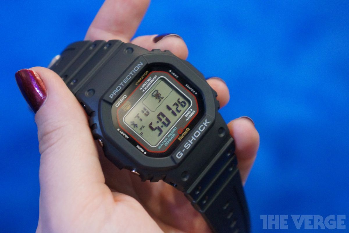 Gallery Photo: Casio GB-5600A bluetooth watch hands-on photos