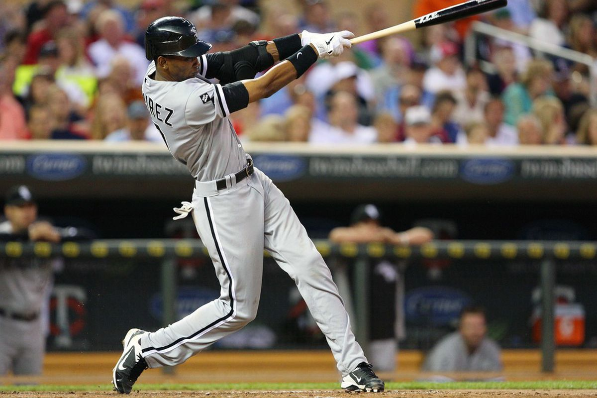 Don't look now, but the Missile is getting heated up.  Alexei Ramirez is now up to .260.   Mandatory Credit: Jesse Johnson-US PRESSWIRE
