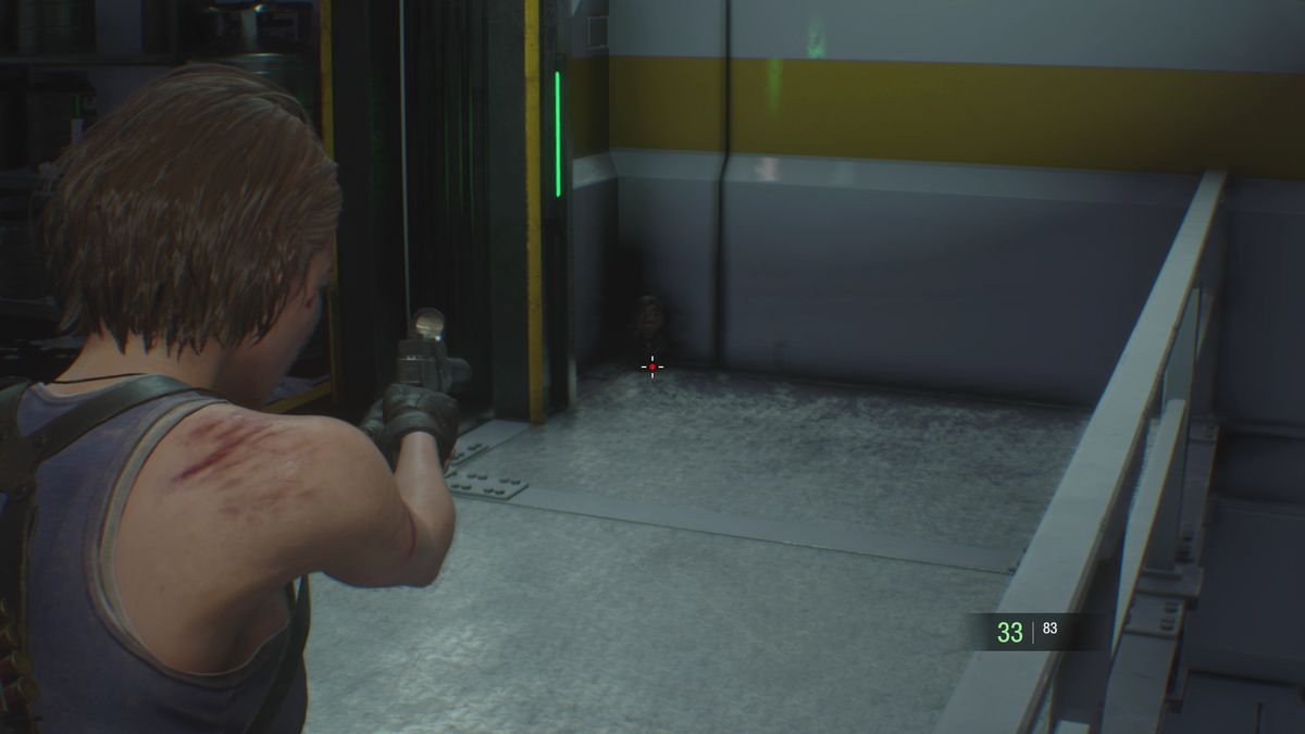 Resident Evil 3 NEST 2 Charlie Doll