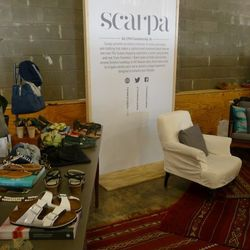 """Charlottesville's <a href=""""http://thinkscarpa.com"""">Scarpa</a> brought up bags and plenty of sandals from brands like Ancient Greek, Birkenstock, and Lola Cruz."""