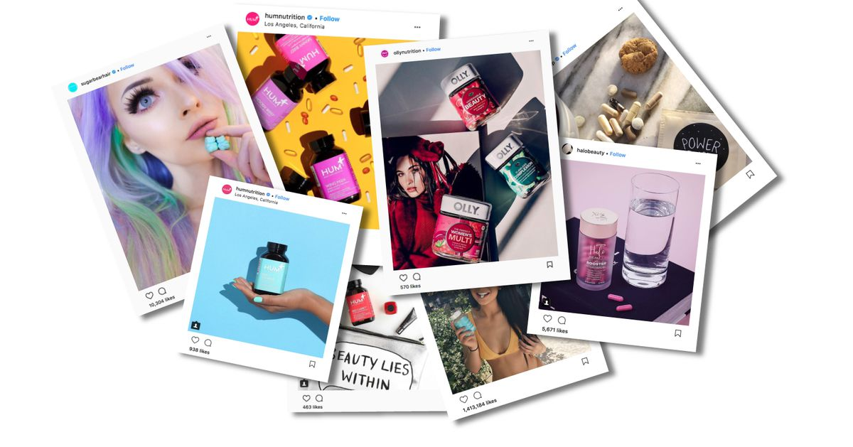 Vitamins for your hair, nails, and skin are everywhere on Instagram