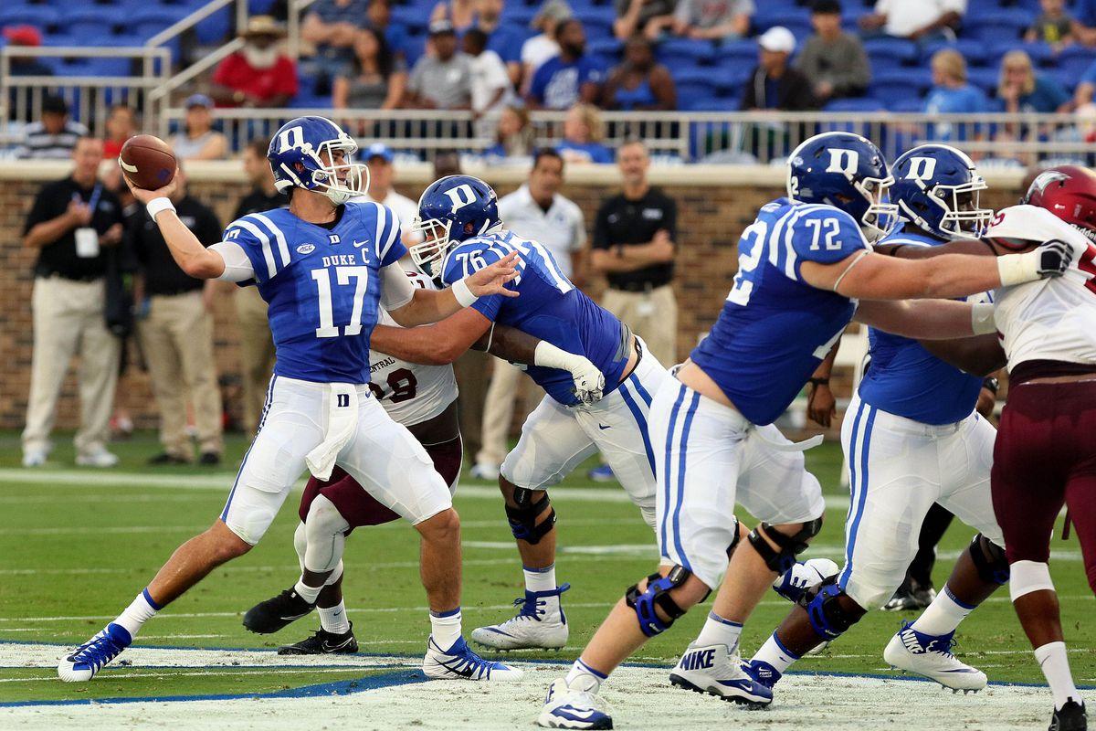 NCAA Football: North Carolina Central at Duke