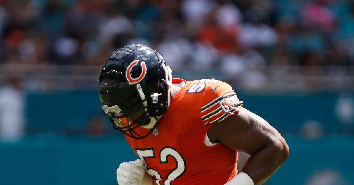 Bears injury report: Khalil Mack's status for Patriots unclear