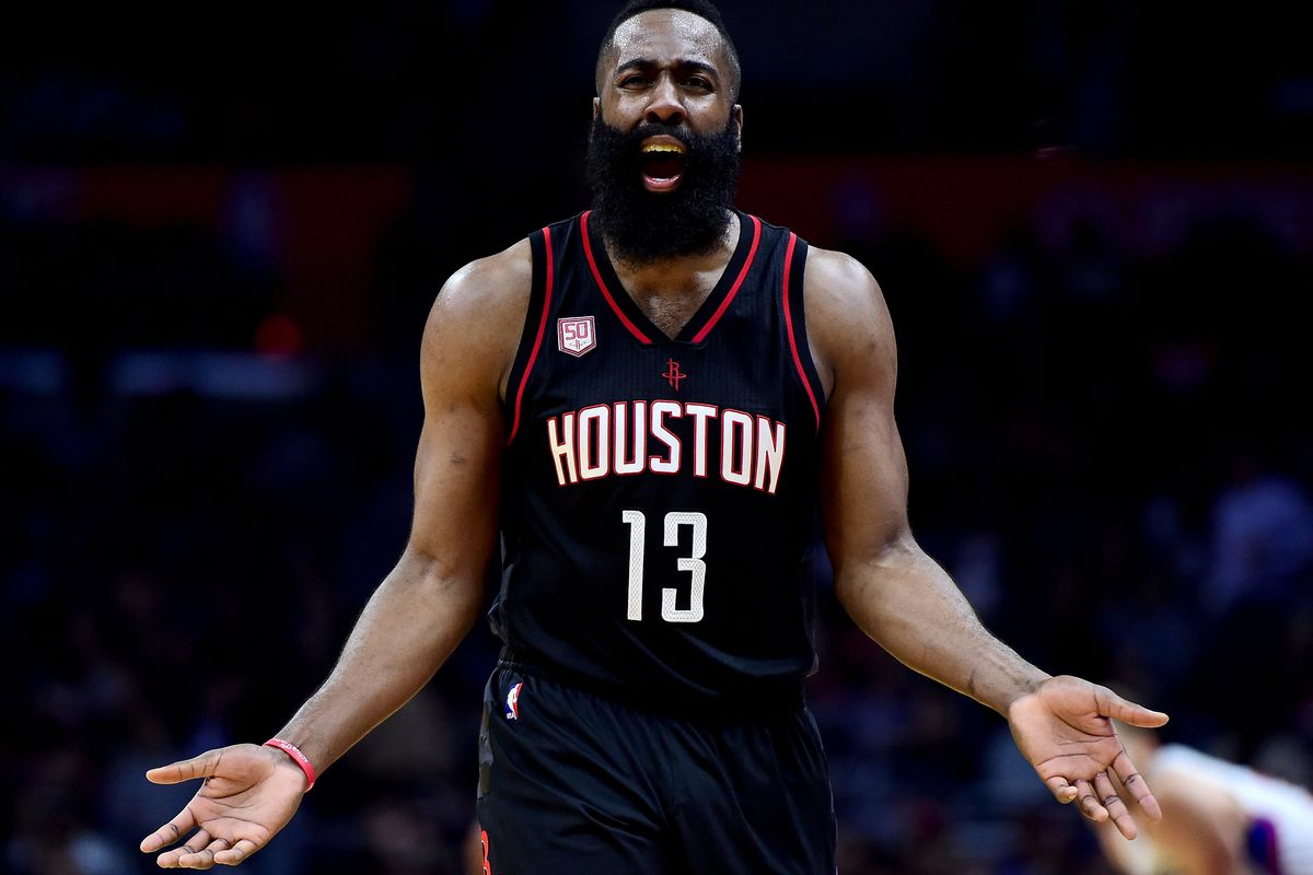 pretty nice 48f93 9c3d0 James Harden hasn't played like an MVP in crunch time ...