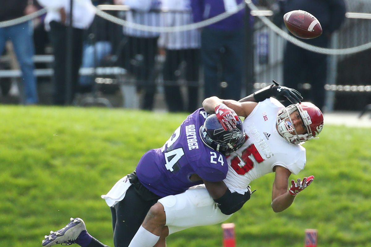 NCAA Football: Indiana at Northwestern
