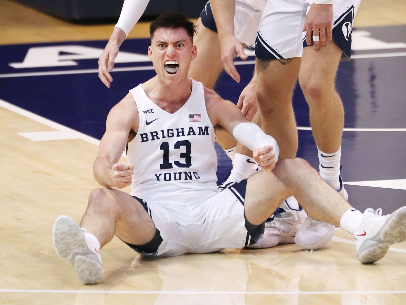 In 1st game this season with fans, Alex Barcello scores career-high 29 points, sets 3s record in BYU win over San Francisco