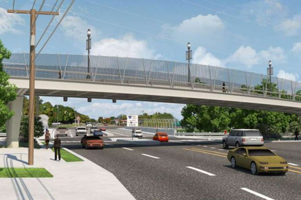East Falls Church S Lee Highway Pedestrian Bridge What To