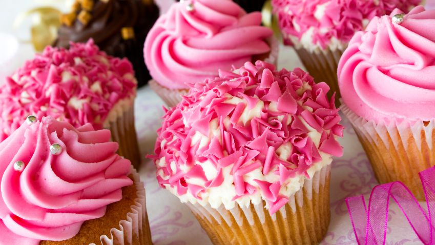 Cupcakes are popular with students but pose problems for those with dairy and egg allergies.