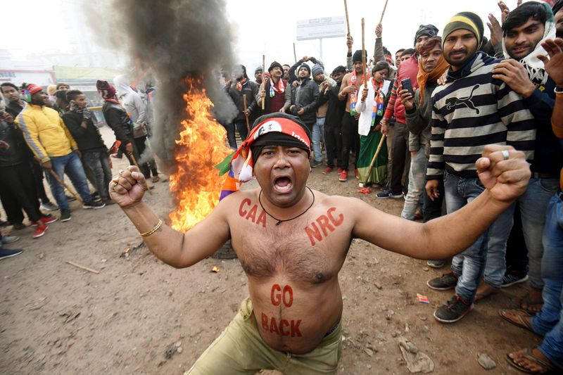 GettyImages_1189864625 Thousands arrested protesting a new Indian citizenship law that excludes Muslims
