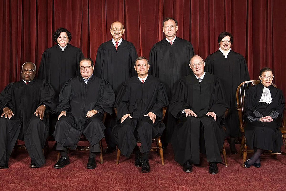 The Roberts court, photographed in 2010