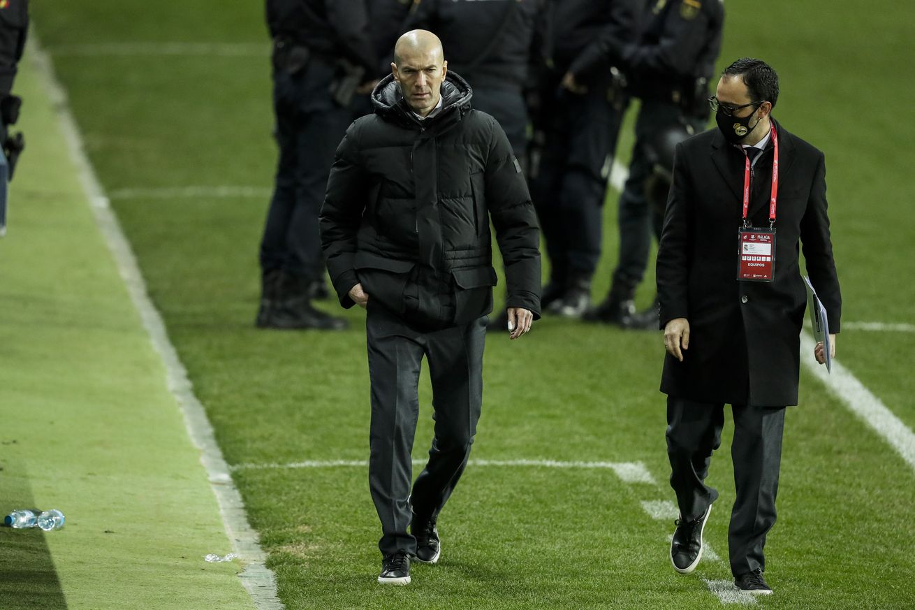 Zidane: ?No, I don?t think this is a disgraceful result?