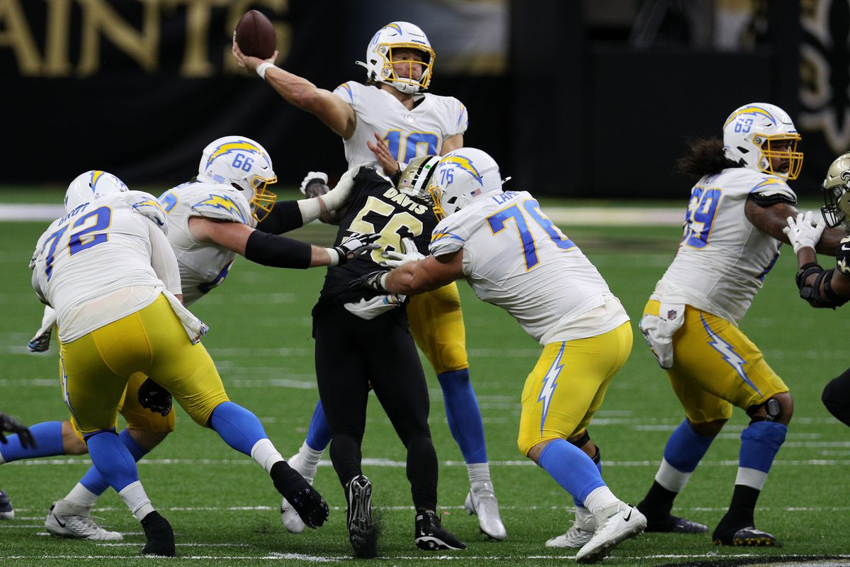 Los Angeles Chargers v New Orleans Saints
