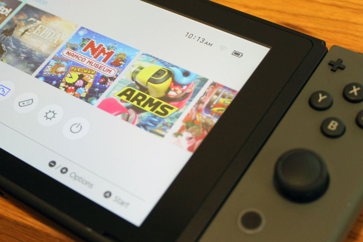 Nintendo Switch deletes playtime data after a year