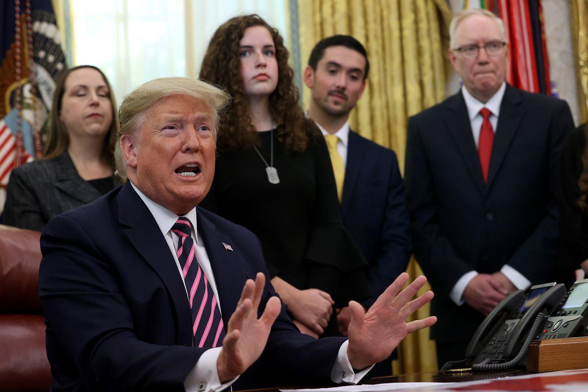 President Trump Announces Guidance On Constitutional Prayer In Public Schools