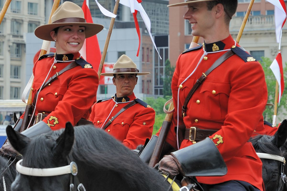The Mounties stopped gerrymandering.