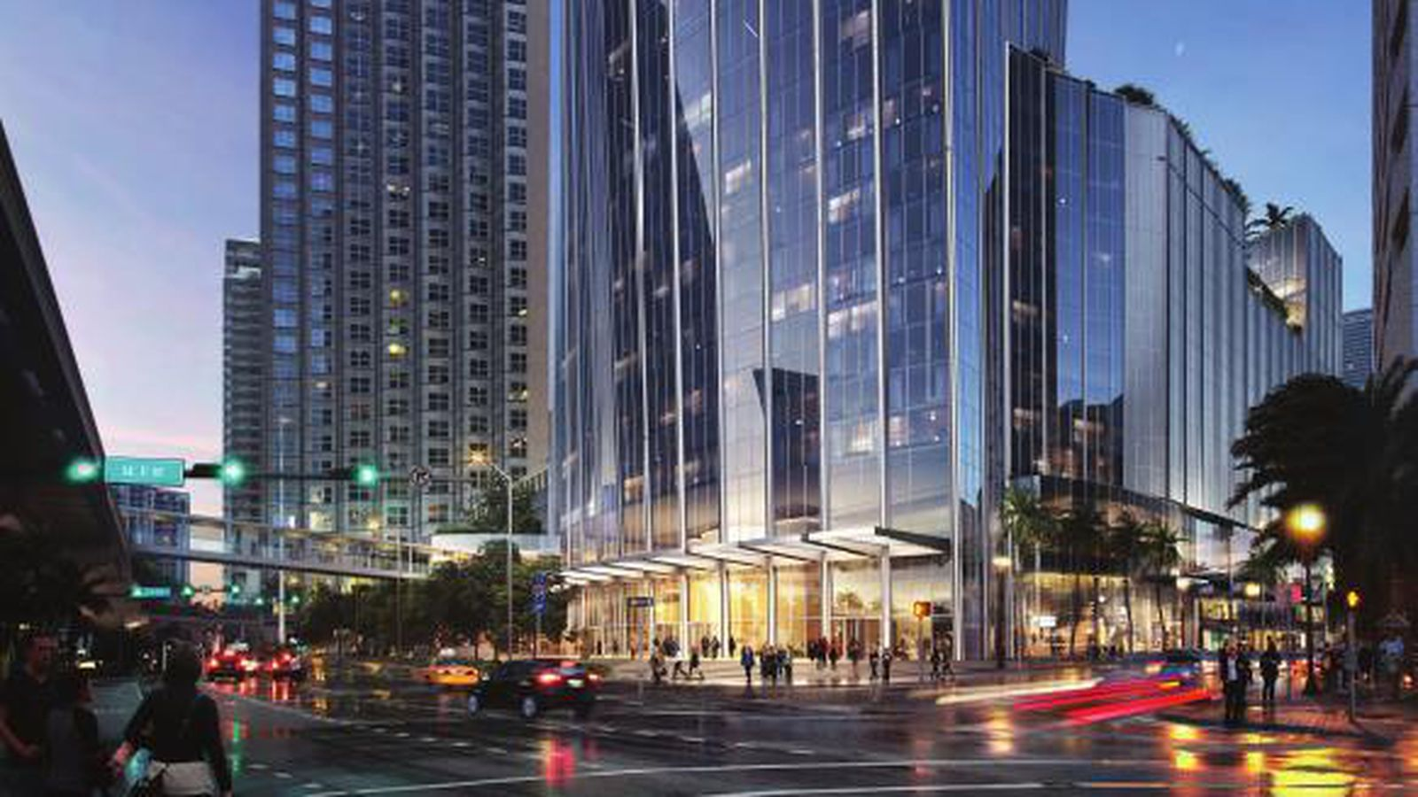 New Orleans Hotel >> Redesigned One Bayfront Plaza planned for downtown Miami ...