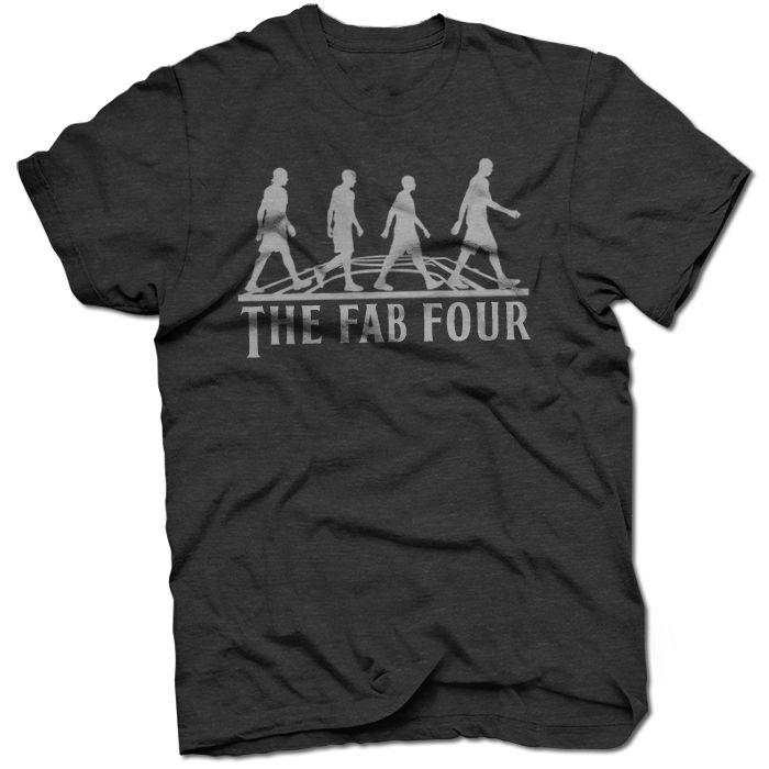 The-Fab-Four-BreakingT-Shirt