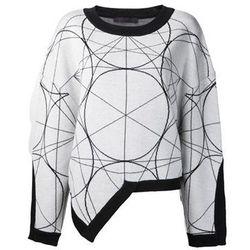 "<b>Jean-Pierre Braganza</b> Geometric Pattern Sweater, <a href=""http://www.farfetch.com/shopping/women/designer-jean-pierre-braganza-geometric-pattern-sweater-item-10512990.aspx?storeid=9485"">$418</a> at Odd"