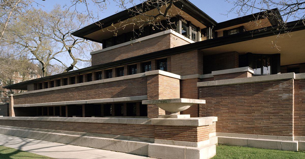 Frank Lloyd Wright S Robie House Reopens After Restoration