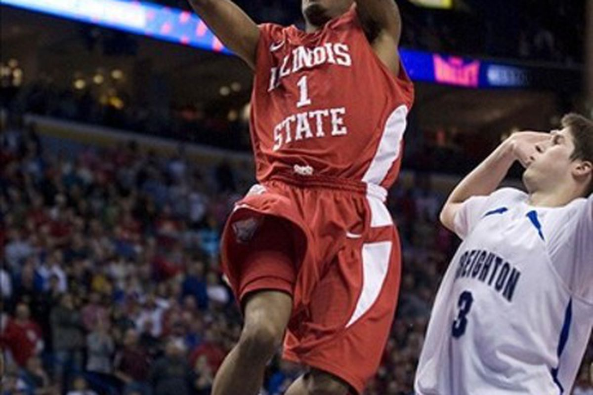 Tyler Brown and Illinois State were lights out against the Rebels in the opening round of the NIT.