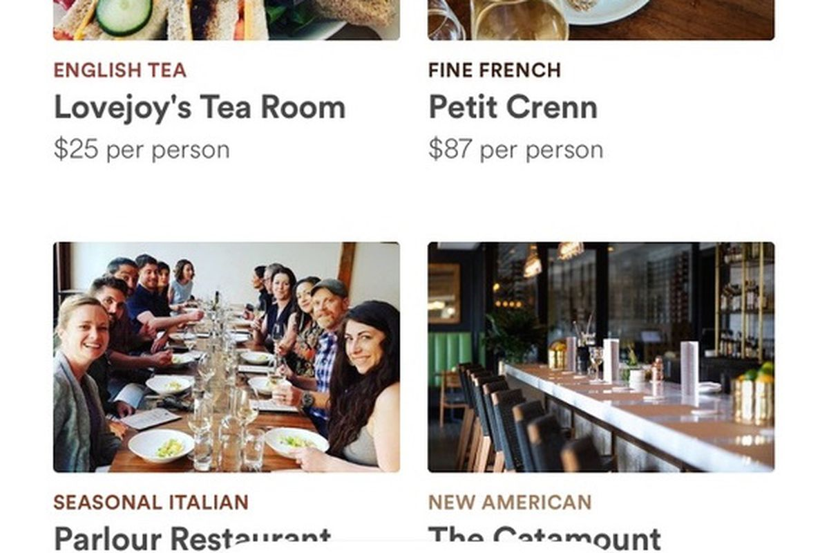 Airbnb App Now Includes Restaurant Reservations Eater Sf