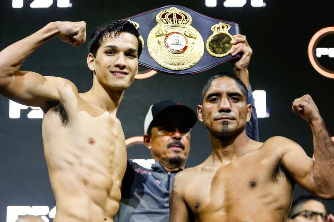 Figueroa Chacon.0 - Figueroa-Chacon: Live coverage, 10 pm ET