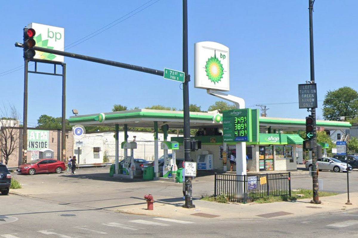 A man was shot and killed Oct. 19, 2020 at a gas station in the 7000 block of South State Street.