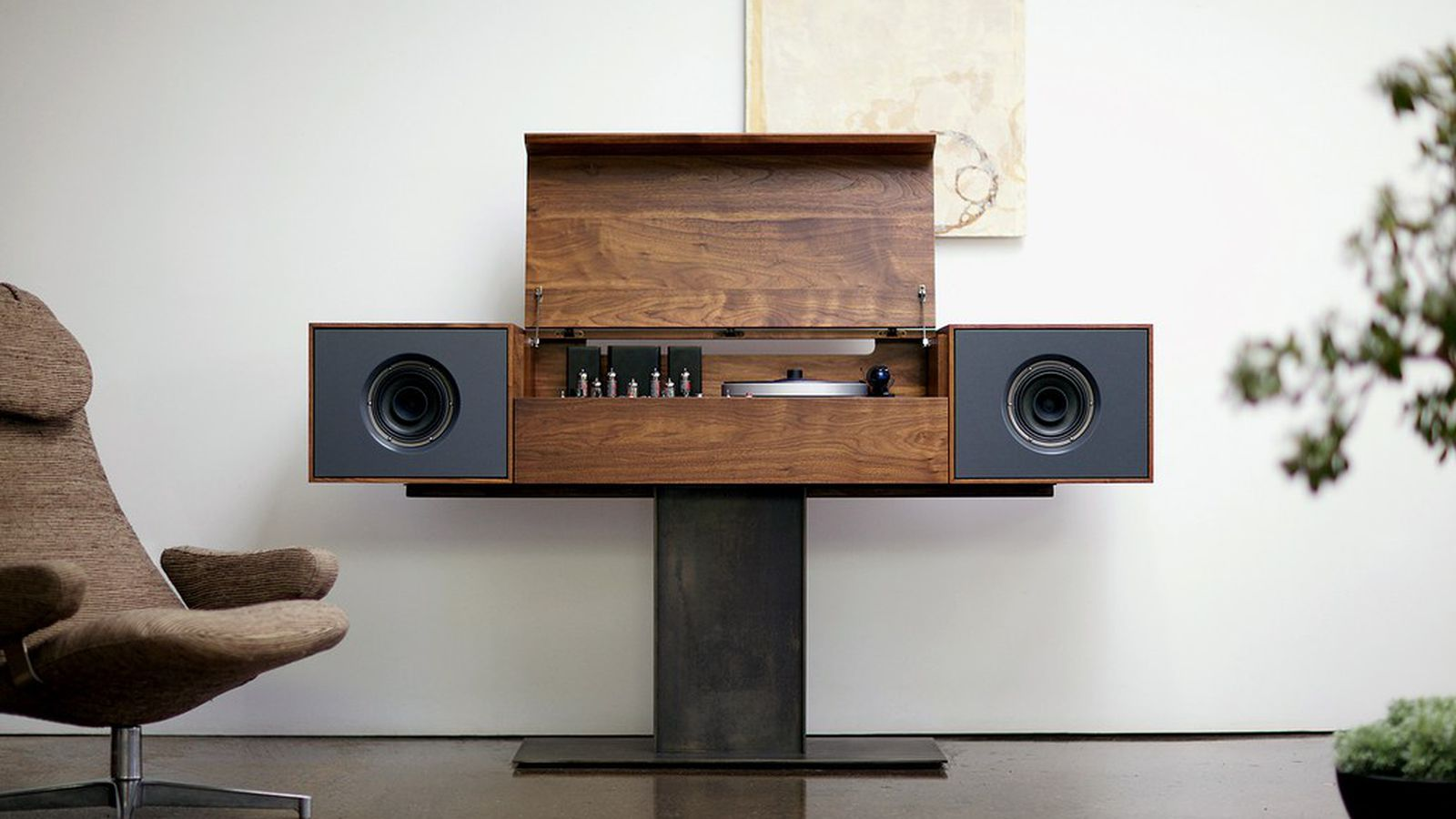 How Speakers Went From Statement Furniture To Unseen Tech Curbed Build Speaker Box Audio Amp