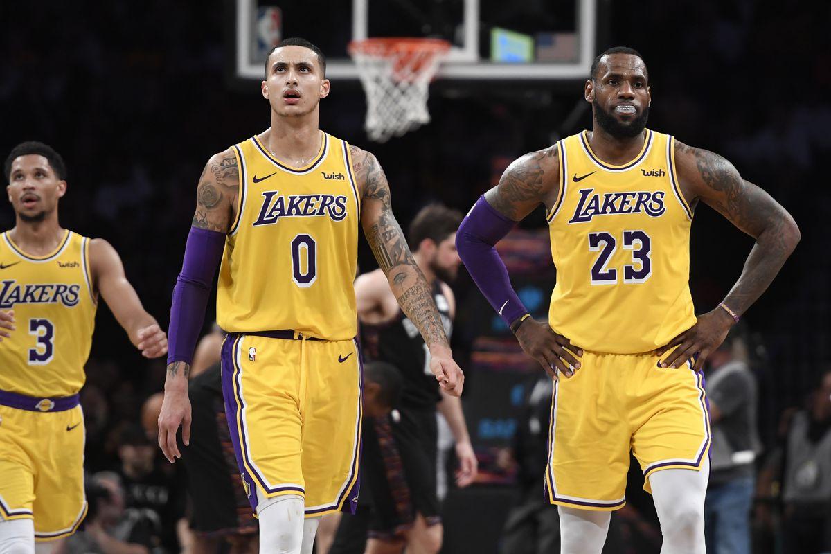 competitive price 31fb9 01ce0 Lakers: LeBron James, Kyle Kuzma Josh Hart and Brandon ...