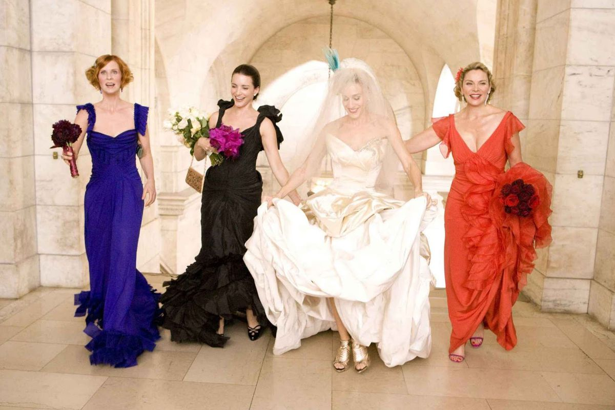 What the Sex and the City Wedding Really Cost - Racked NY