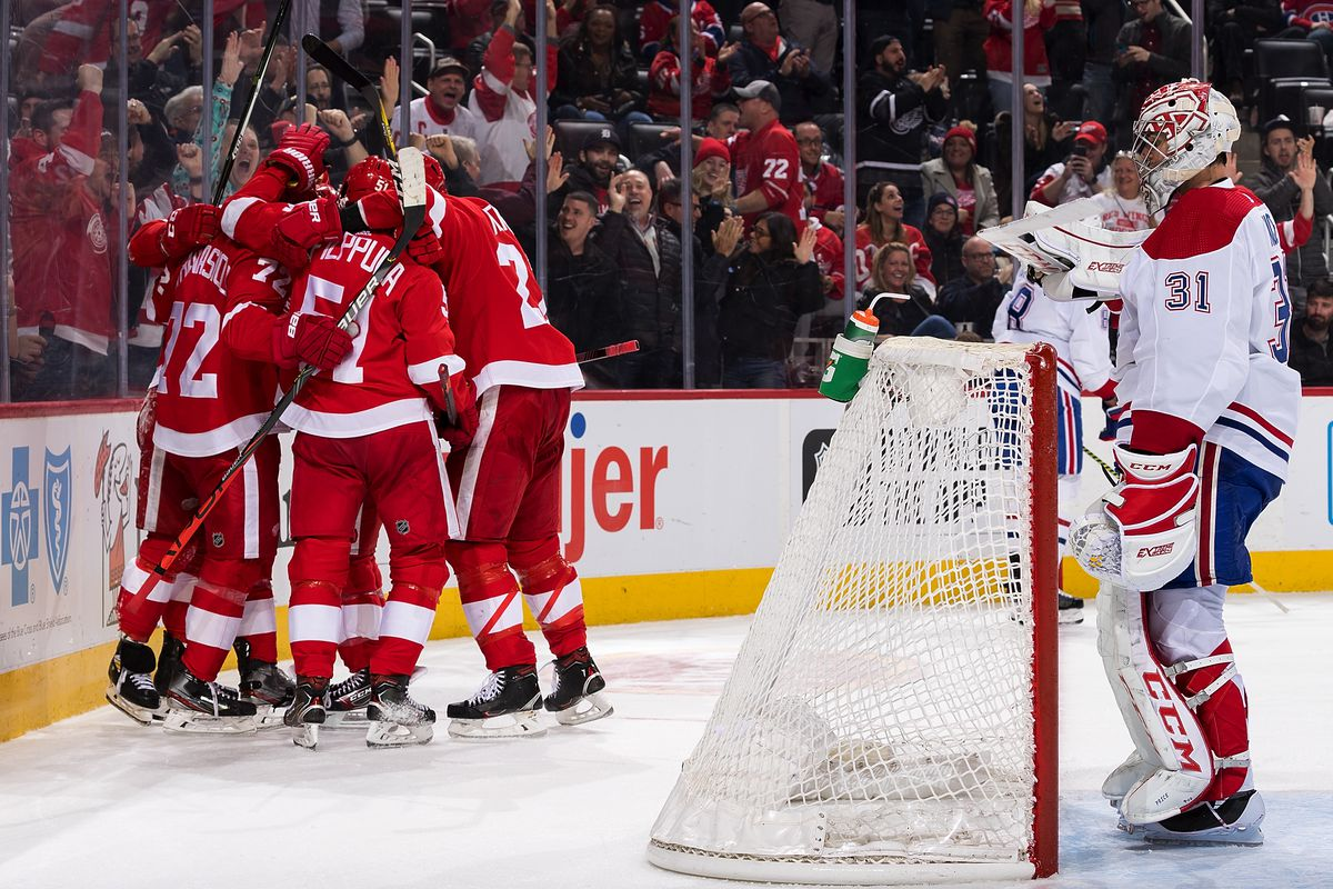 Montreal Canadiens v Detroit Red Wings