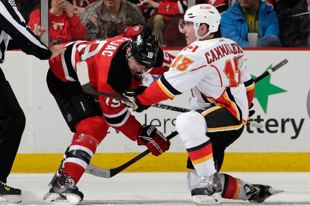Cammalleri will now be with Zajac, not against him.