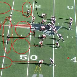 The Patriots need 3 yards