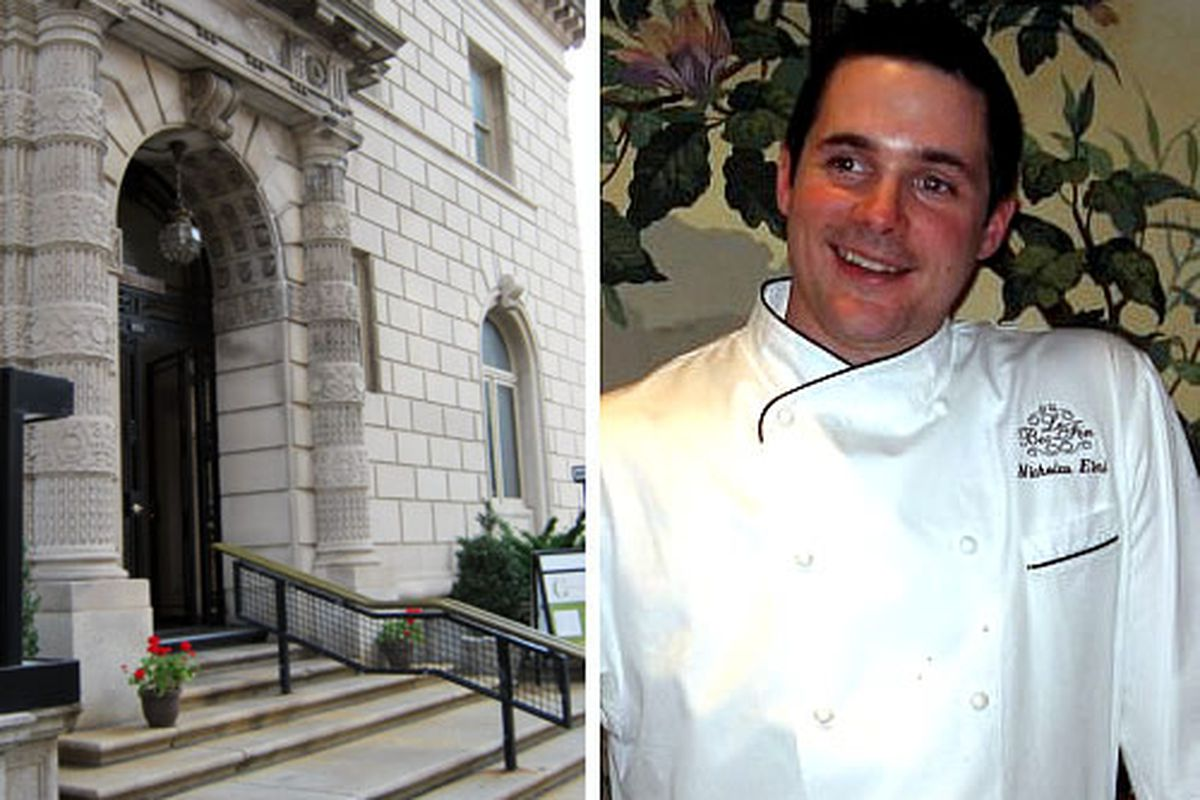 Nick Elmi (right) will be taking the chef job at Rittenhouse Tavern at The Art Alliance(right)