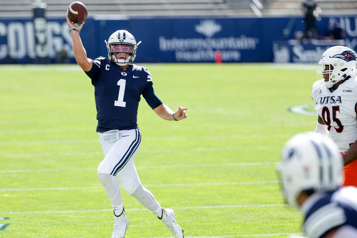 BYU football: Is Cougars QB Zach Wilson an NFL draft prospect? - Deseret  News