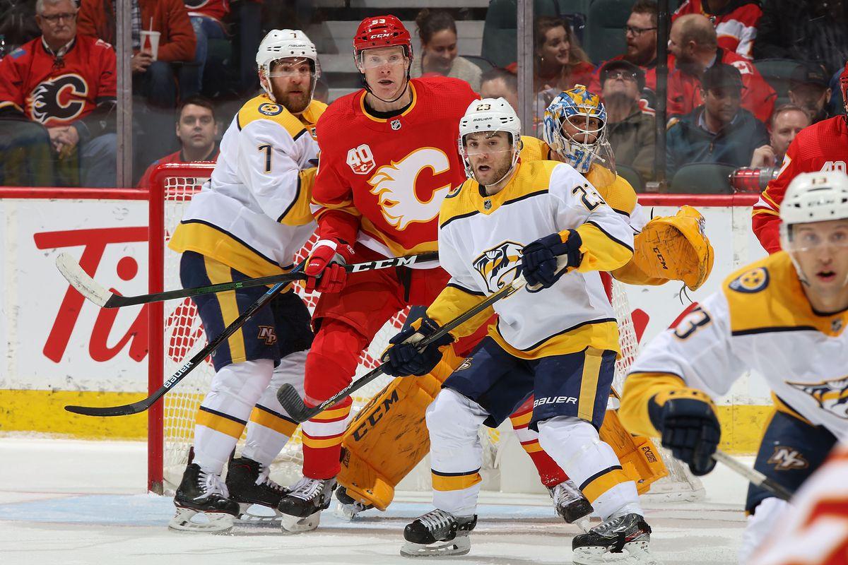 Nashville Predators v Calgary Flames