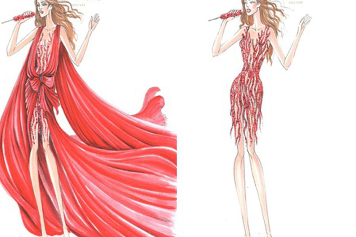 """Zuhair Murad has designed some sparkly numbers for J. Lo, via <a href=""""http://www.graziadaily.co.uk/fashion/archive/2012/06/12/first-look-into-jennifer-lopez-s-tour-wardrobe-designed-by-zuhair-murad.htm"""">Grazia</a>"""