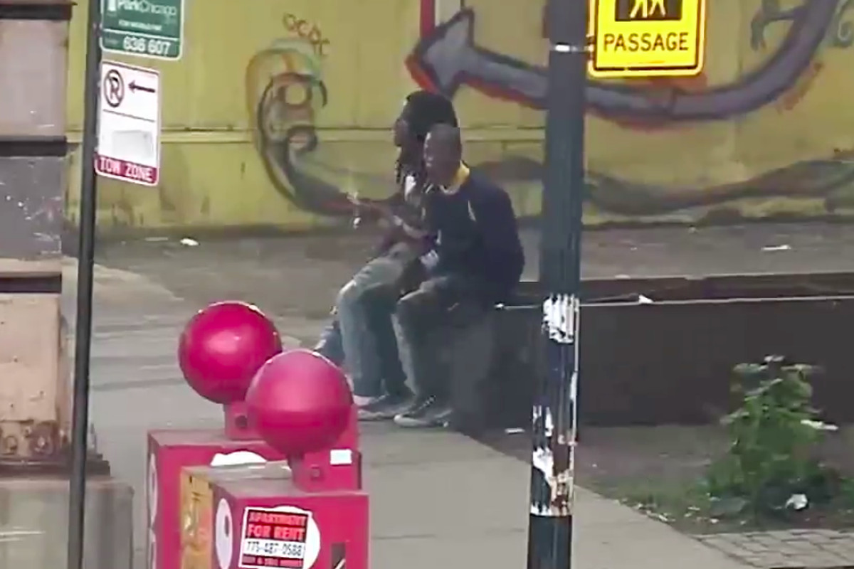 Video shows Maurice Granton, Jr  holding a gun before fatal