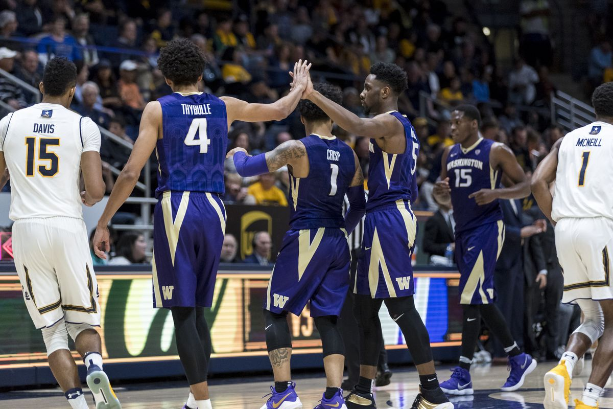washington huskies release complete 2018-19 men's basketball