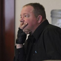 David Serbeck, is seen in court on March 28, 2012. Attorneys are appealing his consecutive prison sentences.