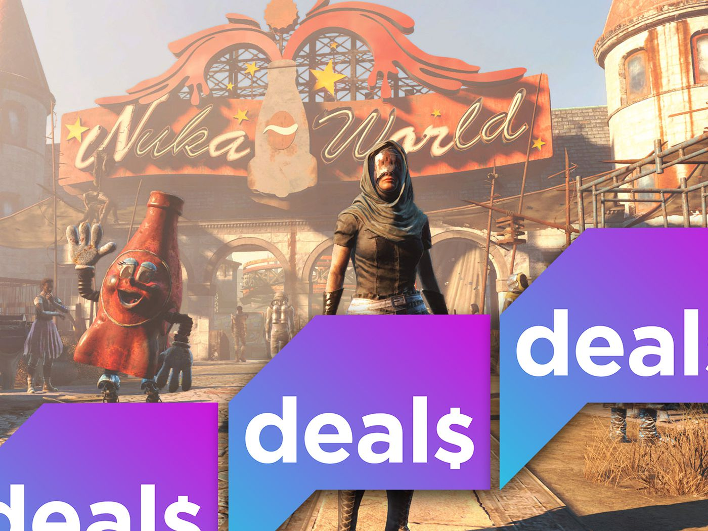 Fallout sale, Xbox One bundle, free games in June and more gaming