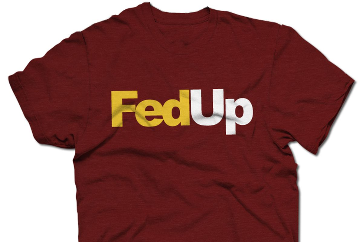 brand new d47e4 efb60 The Official FedUp T-shirt Now Available - Hogs Haven
