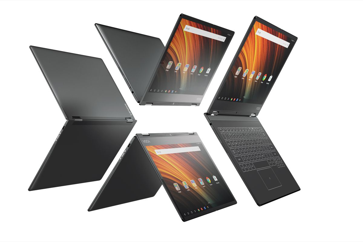 The Yoga A12 is a budget version of Lenovo's Yoga Book, but