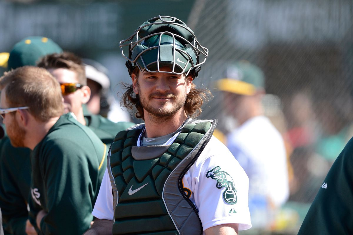 Jaso's offense improved dramatically when he stopped wearing his catcher's gear during his at-bats.